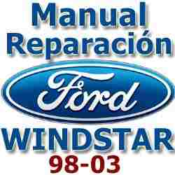 2000 ford windstar repair shop manual 2 volume set original.